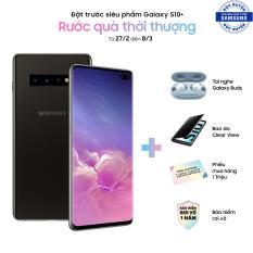 Samsung Galaxy S10+ (Quà Preorder: Tai nghe Earbuds, bao da Clearview, PMH 2 triệu) – Hãng phân phối chính thức.
