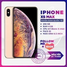 ( Free Vocher 1TRIÊU 16-22/03) Điện thoại Apple iPhone XS MAX 256GB Chính Hãng Apple Bản Quốc Tế PIN 90% Máy Nguyên Zin Nguyên Bản Đẹp như mới Pin hỗ trợ trả góp 0% BẢO HÀNH 6 THÁNG MR CAU TẶNG ỐP LƯNG CƯỜNG LỰC