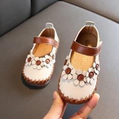 giày bé gái size 21-30 da khâu siêu mềm mại