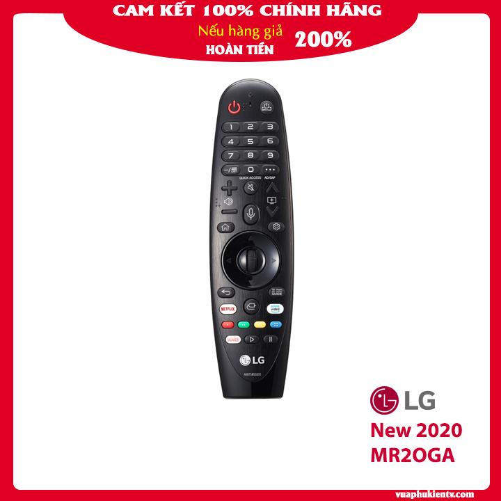 Điều khiển thông minh Tivi LG magic remote AN MR19BA, AN MR18BA, AN MR20GA màu đen bảo CHÍNH HÃNG hỗ trợ tìm kiếm giọng nói tiếng Việt, con lăn, con trỏ, model mới 2020 dùng được cho tivi LG đời 2017, 2018, 2019, 2020