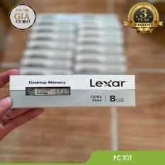 [Nhập ELMAR31 giảm 10% tối đa 200k đơn từ 99k]RAM Lexar DDR4 8GB/2666 (8GB x1) – Mai Hoàng phân phối ( DESKTOP)