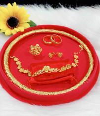 Bộ trang sức cưới cao cấp mạ vàng 24k