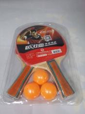 Bộ 2 vợt tặng kèm 3 bóng cao cấp LX 5417