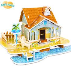 [Đồ chơi xếp hình] Đồ chơi lâu đài 3D cho trẻ em, đồ chơi lắp ghép hình thành trí tưởng tượng cho trẻ, educational toys for kids, đồ chơi phát triển trí nhớ và trí thông minh cho trẻ, 3D Jigsaw Puzzle Toys