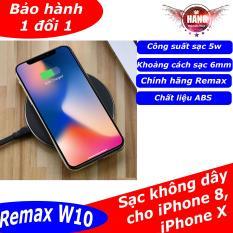 Remax RP-W10 Sạc không dây cho iPhone 8, X, Xr, Xs công suất 5w