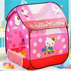 [HCM]Lều chơi Hello Kitty cao cấp cho b&eacute – K&iacutech thước lớn