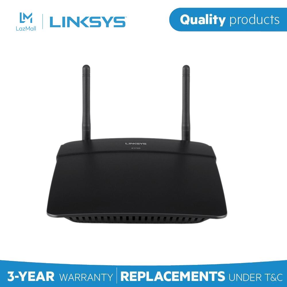 Router Wi-Fi chuẩn N 300Mbps LINKSYS E1700