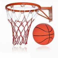 Khung Vành bóng rổ (40cm,35cm,30cm) và quả bóng rổ (quả bóng rổ số 3,5,6,7)