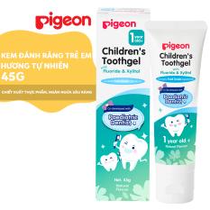 Kem đánh răng trẻ em Pigeon – Hương tự nhiên