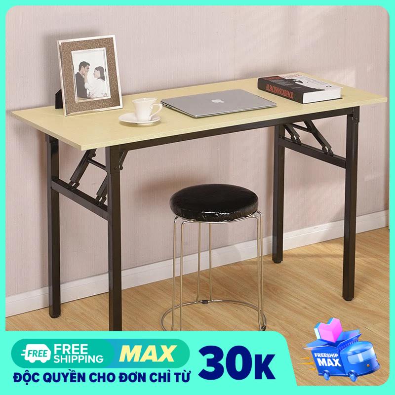 Tâm House Bàn làm việc, bàn văn phòng, bàn liền kệ đa năng (100 * 50cm) -BXG051