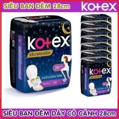 Băng vệ sinh Kotex siêu ban đêm 28cm ( Gói 4 miếng ) Tặng thêm 2 Miếng – cam kết hàng đúng mô tả chất lượng đảm bảo an toàn đến sức khỏe người sử dụng đa dạng mẫu mã màu sắc kích cỡ