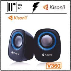 Loa Vi Tính Kisonli V360 – BH 1 Đổi 1 – 10 tháng + 2