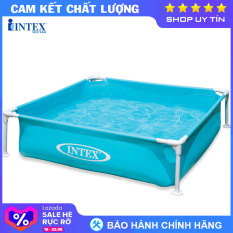 Bể bơi khung kim loại cho bé INTEX 57173 – Hồ bơi cho bé mini, Bể bơi phao trẻ em