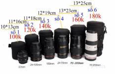 Túi đựng lens chống sốc hình ống trúc cho máy ảnh