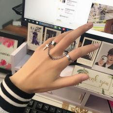 Nhẫn nối thánh giá phong cách Hàn Quốc thời trang cá tính, Thích hợp làm quà tặng cho bạn bè và người thân