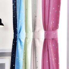 Rèm cửa sổ , rèm cửa , rèm họa tiết sao sáng lấp lánh fstq2071 ( có video và ảnh thật )