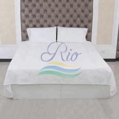 Bộ tấm trải trắng trơn cho khách sạn-resort