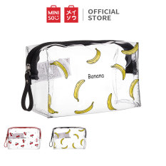 Túi đựng mỹ phẩm hình vuông Miniso (Giao ngẫu nhiên) – Hàng chính hãng