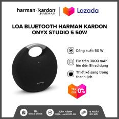 [TRẢ GÓP 0% – HÀNG CHÍNH HÃNG] Loa Bluetooth Harman Kardon Onyx Studio 5 50W l Âm bass dày chắc khỏe l Thời gian phát nhạc liên tục đến 5 giờ