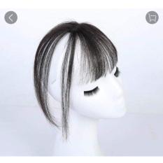 Tóc mái thưa dạng cột chống hói- tóc thật 100%