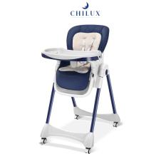 Ghế ăn dặm cho trẻ em cao cấp Chilux Grow V – Có khoá bánh xe, điều chỉnh độ cao dễ dàng, tiện lợi cho bé sử dụng