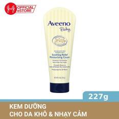 Kem dưỡng ẩm cho da khô và nhạy cảm Aveeno soothing relief 227g