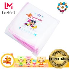 Bộ 10 khăn sữa chuột nhí SunBaby 3 lớp 25x25cm- 253D