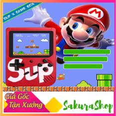 Máy chơi game 400 in 1 SUP, tích hợp 400 game,pin lithium chơi được 6 tiếng sau mỗi lần sạc, có cổng AV kết nối lên TV,màn LCD 3 incnh HD sắc nét,Máy chơi game 4 nút cầm tay 400 trò