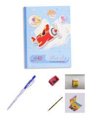 Vở học sinh TẶNG bút bi,bút chì gôm hộp bút màu