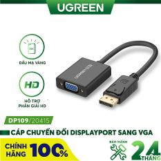 Cáp chuyển đổi Displayport sang VGA cao cấp chính hãng UGREEN DP109 20415