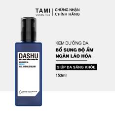 Kem dưỡng da cho nam DASHU Mans Aqua Real Moist All In One Làm mịn da Săn chắc da Ngăn ngừa lão hóa 153ml TM-KD01