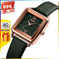 [TẶNG HỘP VÀ PIN] Đồng hồ nữ đẹp SKMEI 1702 đồng hồ nữ chính hãng giá rẻ thời trang cho phái đẹp