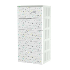 [HCM]Tủ nhựa KATA 5 tầng- TẶNG KÈM ĐẾ GỖ IPAD