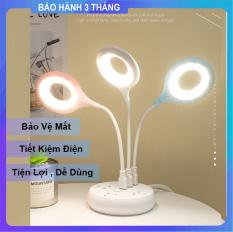 [ Siêu Rẻ ] Đèn Led USB Để Bàn Học , Làm Việc , Đọc Sách Kiêm Đèn Ngủ Tiện Lợi Nhỏ Gọn