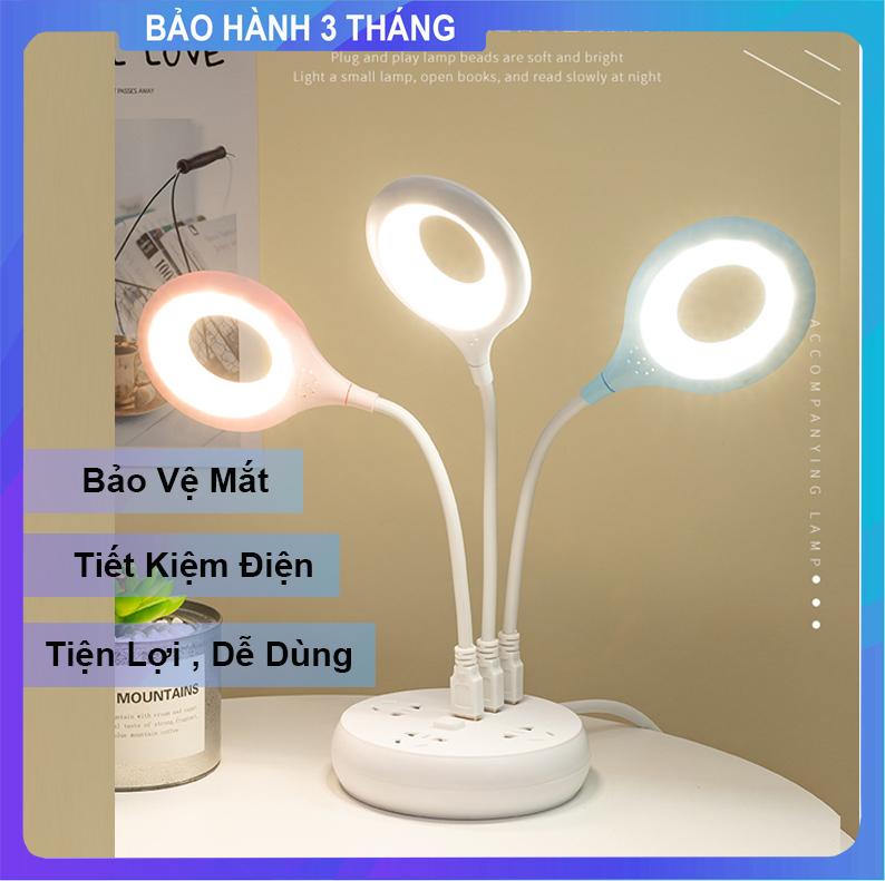 [ Siêu Rẻ ] Đèn Led USB Để Bàn Học , Làm Việc , Đọc Sách Kiêm Đèn Ngủ Tiện...