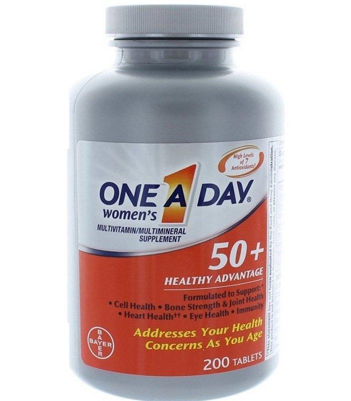 Vitamin hàng ngày cho phụ nữ ONE A DAY Women's 50+ Advantage 100 viên