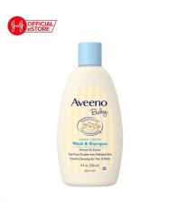 (Quà Tặng Không Bán) Sữa tắm gội toàn thân Aveeno baby 236ml