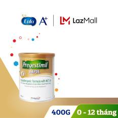 [FREESHIP] Sữa bột cho trẻ kém hấp thu chất đạm biếng ăn nhẹ cân Pregestimil 400g – Cam kết HSD còn ít nhất 10 tháng – Không chứa Lactose bổ sung DHA ARA axit amin thiết yếu