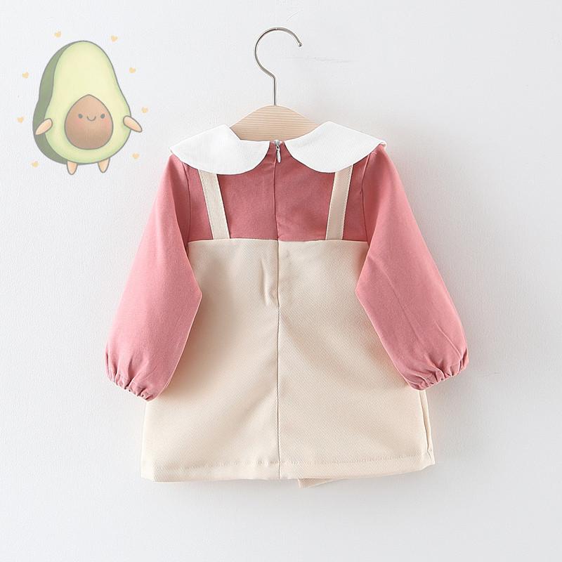 Váy trẻ em – Váy yếm hình trái tim siêu xinh cho bé gái