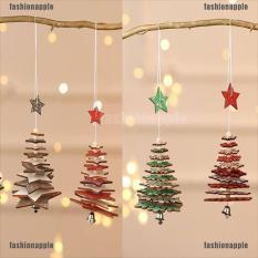 Phụ Kiện Treo Trang Trí Noel Cây Thông Ngôi Sao Gỗ – Cây Thông Noel – Cây Thông Giáng Sinh , Cây Thông Noel Ouken Treo Mặt Dây Chuyền Bằng Gỗ Trang Trí Ngôi Sao Năm Cánh Tinh Tế Trang Trí Cây Thông Noel Đạo Cụ Treo