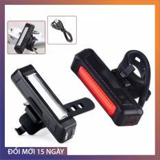 Đèn Xe Đạp COMEET siêu sáng phía trước và phía sau đèn pha LED Đèn hậu chống nước dễ lắp đặt