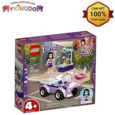 MY KINGDOM – Đồ Chơi Lắp Ráp LEGO Phòng Khám Thú Y Lưu Động Của Emma 41360