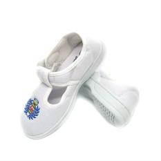 Giày dán Asia trắng cho học sinh