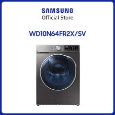 Máy giặt sấy inverter add wash Samsung Addwash 10.5kg (WD10N64FR2X/SV) – Hàng chính hãng