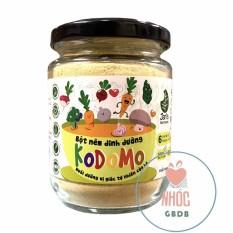 Bột nêm dinh dưỡng Kodomo cho bé từ 6m+ 90gr – Lọ TT 90g