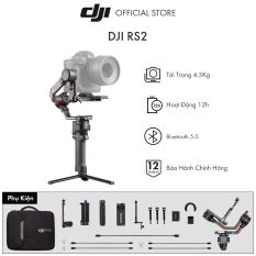 Tay cầm gimbal DJI Ronin RS 2 chống rung máy ảnh Hàng chính hãng