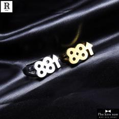 Nhẫn Nam Titan Số 88 Phát Lộc Phong cách Hàn Quốc – Mã N013