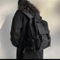 Balo nữ thời trang chất liệu vải dù chống nước, có ngăn chống sock laptop 15.6 inch cao cấp