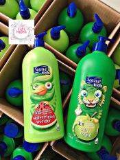 Sữa tắm gội xả cho bé Suave Kid 3 in 1 Silly Apple/Dưa hấu 1.18L Mỹ