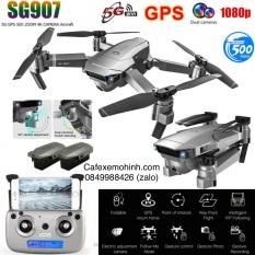 [4k] Flycam Sg907 camera 4k 5G gấp gọn bay 500m bản nâng cấp 5Ghz